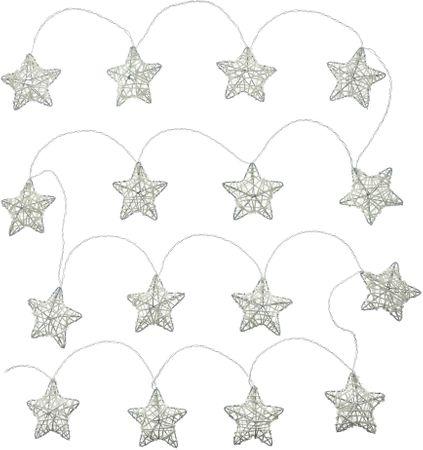Retlux gwiazdki 16LED Ciepła biel