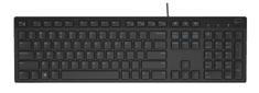 DELL KB-216 česká multimediálna klávesnica, čierna (580-ADGP)
