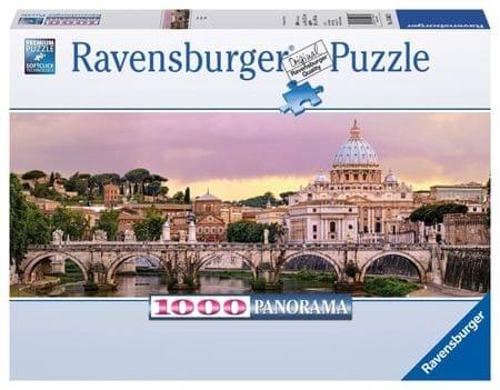 Ravensburger Mosty v Římě panorama 1000 dílků