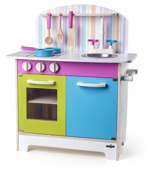 Woody Kuchyňka Julia, proužkovaná