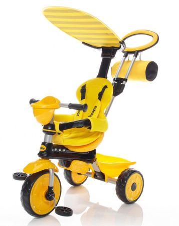 ZOPA Rowerek trójkołowy ZooGo żółty