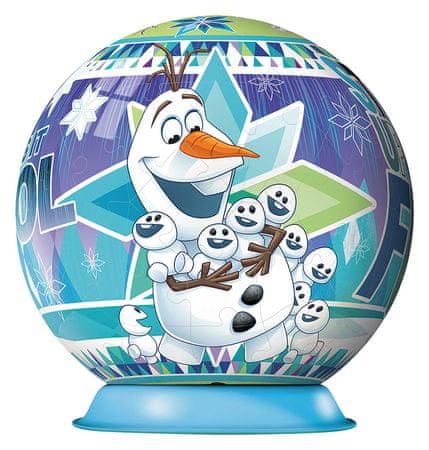 Ravensburger sestavljanka 3D Disney Frozen Olafova avantura, 72kos