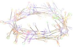 Retlux nano ježko reťaz 100 LED multicolor