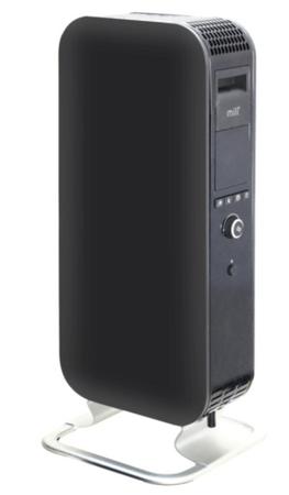 Mill oljni radiator 1000 W Heat Boost Technology, črn