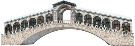 Ravensburger Benátky - Rialto most 216 dielikov