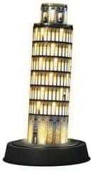 Ravensburger puzzle 3D Krzywa Wieża w Pizie nocą, 216 elementów