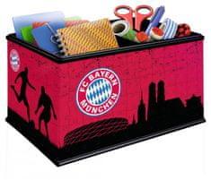 Ravensburger puzzle 3D pudełko z motywem FC Bayern, 216 elementów