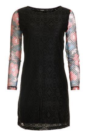 Desigual ženska haljina Pichi Ml 42 crna