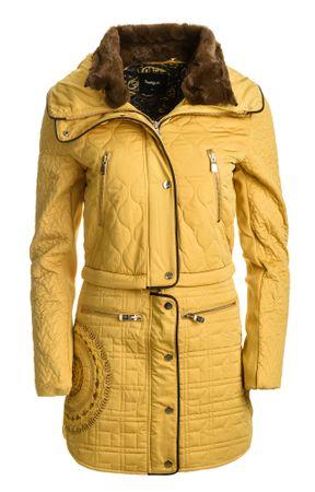 96058c6d8c Desigual női kabát California 36 sárga   MALL.HU