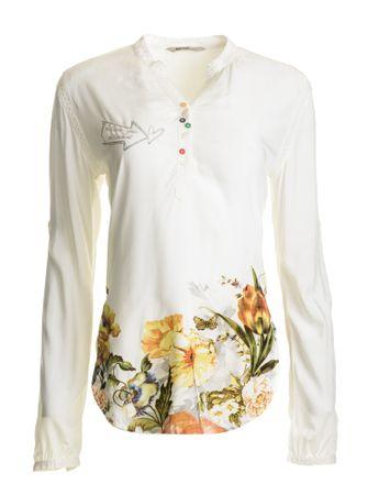 52a173053a Desigual bluzka damska Brigitte XS biały