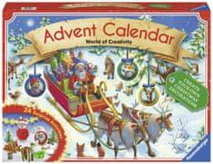 Ravensburger kalendarz adwentowy - Świat kreatywności