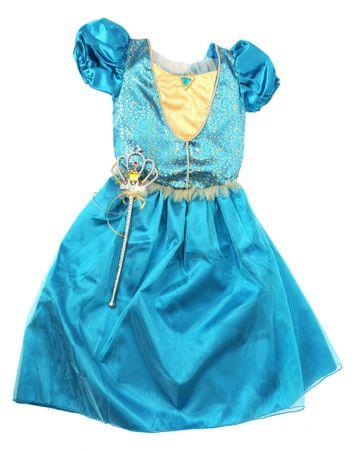 525202d8a74c Mac Toys Šaty pre princeznú - modré