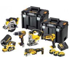 DeWalt set akumulatorskog alata DCK665P3T, 6-dijelni