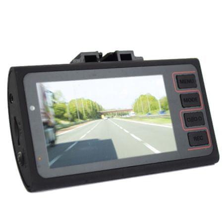 Pama avto kamera PNGD2, 6,85 cm LCD, DVR HD, spredaj + zadaj - Odprta embalaža