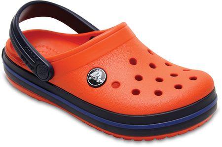 ff160f37fa505c Crocs klapki Crocs Classic Clog K Tangerine/Navy 24,5 | MALL.PL