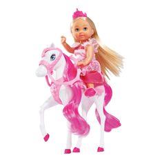 SIMBA Évike baba - hercegnő lóval