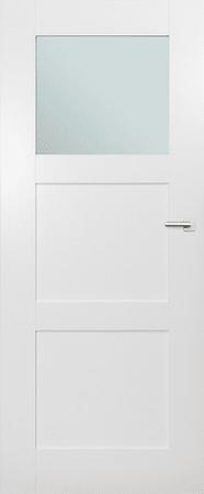 VASCO DOORS Interiérové dveře ARVIK kombinované, model 2, Bílá, A