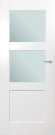 VASCO DOORS Interiérové dveře ARVIK kombinované, model 3, Bílá, B