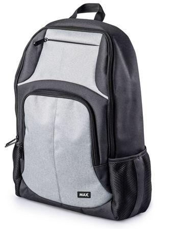 MAX Plecak za notebook MBP1501BG, czarnoszary