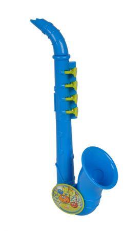 SIMBA saksofon dziecięcy, niebieski, 26 cm