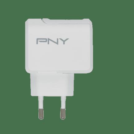 PNY Sieťová nabíjačka USB-C EU (P-AC-TC-WEU01-RB), White
