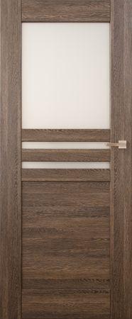VASCO DOORS Interiérové dveře MADERA kombinované, model 5, Ořech, A