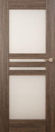 VASCO DOORS Interiérové dveře MADERA kombinované, model 6, Dub rustikál, C