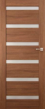 VASCO DOORS Interiérové dveře EVORA kombinované, model 5, Merbau, A