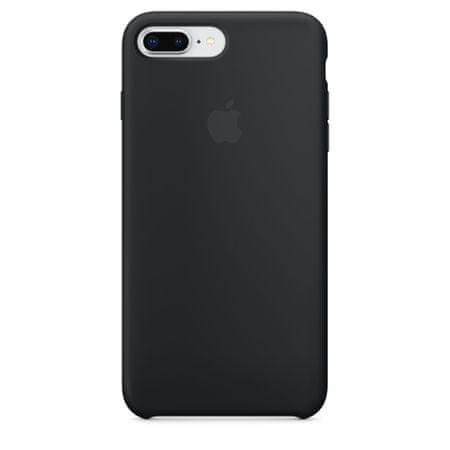 Apple Szilikon borító, Apple iPhone 7 Plusz/ 8 Plusz, MQGW2ZM/A, Black