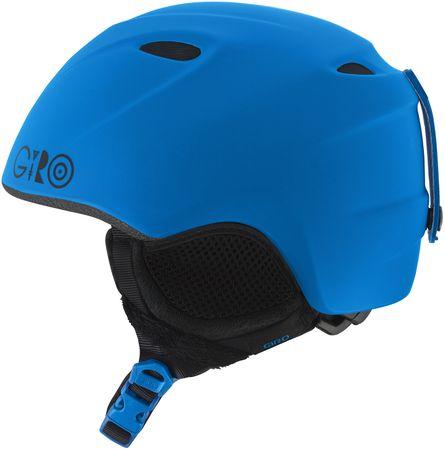 Giro otroška smučarska čelada Slingshot, mat modra, 49-52 cm