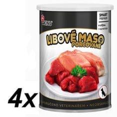 Akinu PREMIUM Sovány hús kutyáknak 4 x 400 g