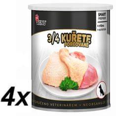 Akinu PREMIUM 3/4 csirkehús 4 x 800 g