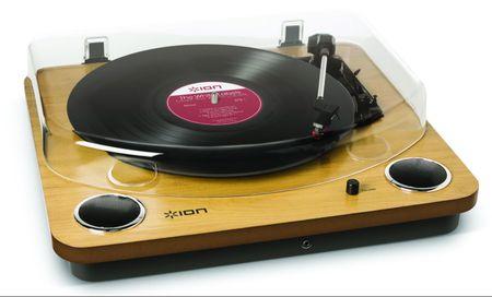 iON Gramofon Max LP, jasnobrązowy