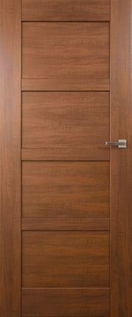 VASCO DOORS Interiérové dveře PORTO plné, model 1, Ořech, B