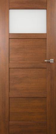 VASCO DOORS Interiérové dveře PORTO kombinované, model 2, Dub rustikál, B