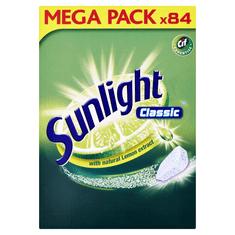 Sunlight Classic Tablety do umývačky riadu 84 ks