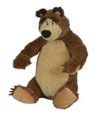 SIMBA Máša a medveď - Plyšový medveď sediaci 25 cm