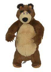SIMBA Máša a medveď - Plyšový medveď stojaci 25 cm