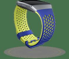 Fitbit Ionic - športový remienok modrožltá - veľkosť S