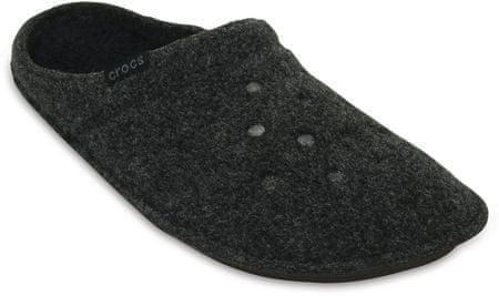 Crocs copati Classic Slipper Black/Black, 37,5