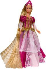 Simba lutka Steffi Rapunzel - v rdeči obleki
