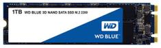 Western Digital SSD disk SATA 3 1TB BLUE 3D NAND M.2 2280 (WDS100T2B0B)