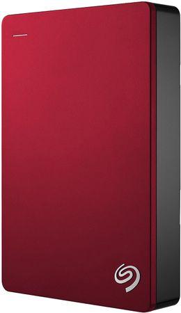 Seagate zunanji trdi disk 4TB 2,5 USB 3.0 Backup Plus, rdeč (STDR4000902)