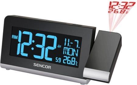 SENCOR budzik z projekcją czasu SDC 8200
