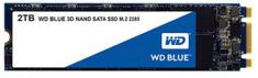 WD SSD disk SATA 3 2TB BLUE 3D NAND M.2 2280 (WDS200T2B0B)