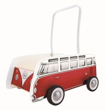 Hape Járóka autóbusz T1, piros