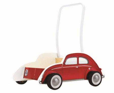 Hape pchacz samochód Brouk, czerwony