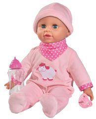 SIMBA Lalka Laura z butelką, 38 cm
