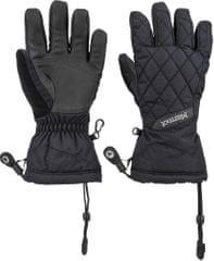 Marmot Žene skijaške rukavice Moraine, crne