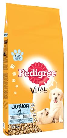 Pedigree hrana za štence Pedigree Junior 15 kg, piletina i riža